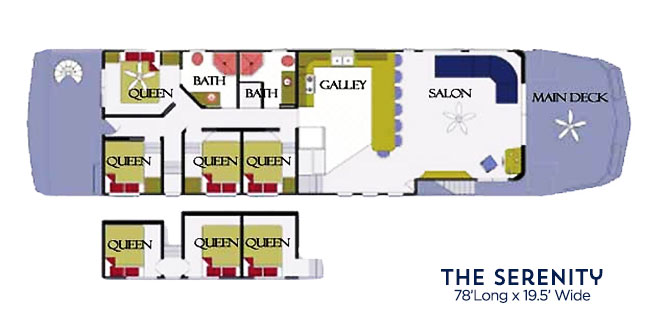 Floor plans for the serenity 900