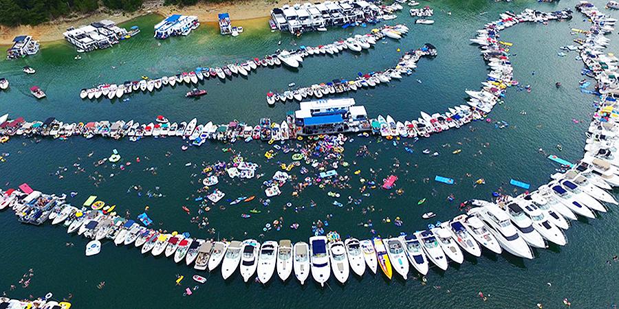 State Dock | LAKE CUMBERLAND RAFT-UP